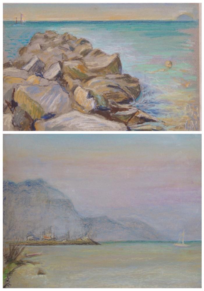 Malerier af Lise-Lotte Iversen - set hos www.FruBilledkunst.dk