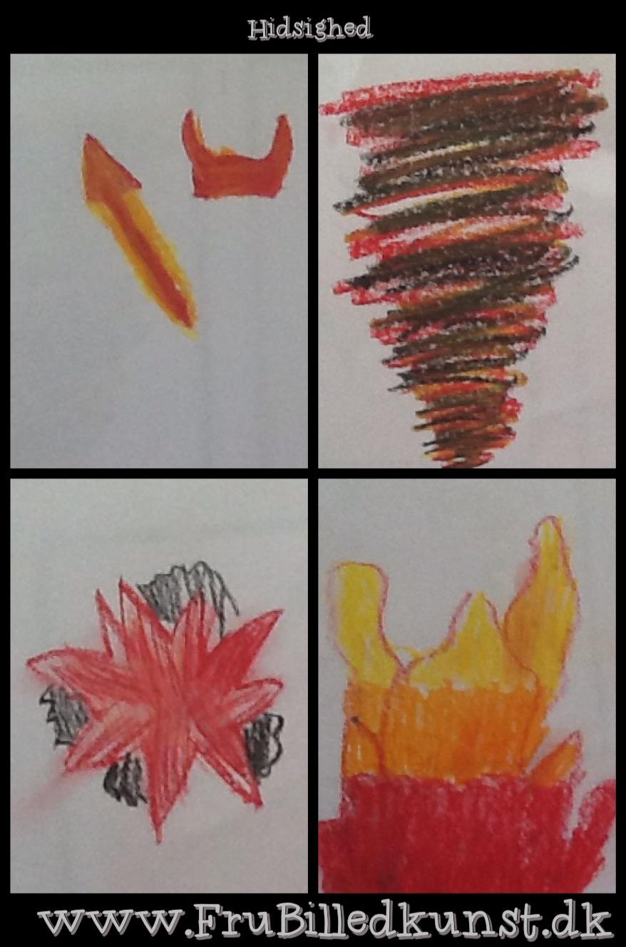 www.FruBilledkunst.dk - følelser og farver - hidsighed
