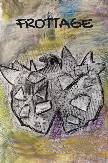 Frottage elevbog forside - www.FruBilledkunst.dk
